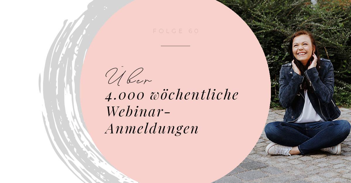 Über 4.000 wöchentliche Webinar-Anmeldungen - wie Laura Seiler ihre Community aufgebaut hat