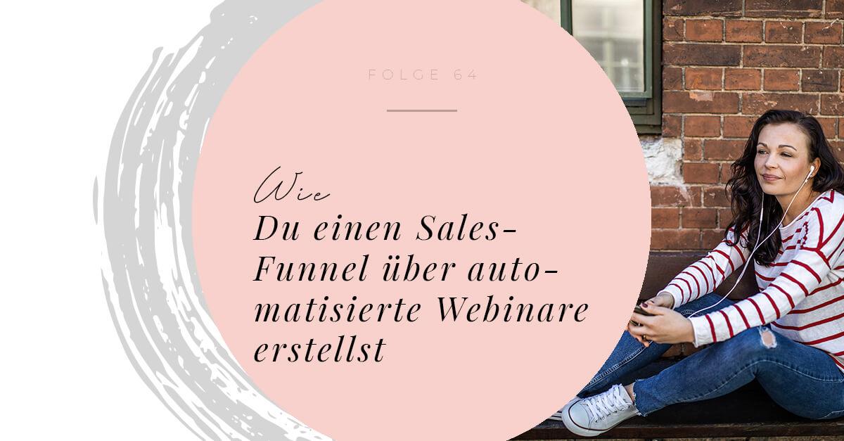 Wie Du einen Sales-Funnel über automatisierte Webinare erstellst - Interview mit Marc Roth